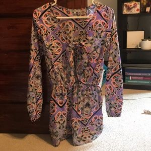 Charlotte Russe romper; ties in the front